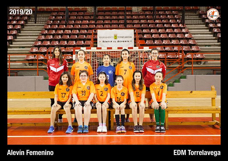 Alevín Femenino EDM Torrelavega